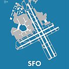 SFO - San Francisco International Airport by Richard McKenzie