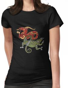 Dragons Tee Womens Fitted T-Shirt