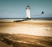 Point of Ayr, Lighthouse. by maxblack