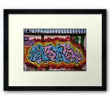 Graffiti 1 Framed Print