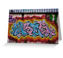 Graffiti 1 Greeting Card