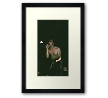 Lux Interior, The Cramps, RIP Framed Print