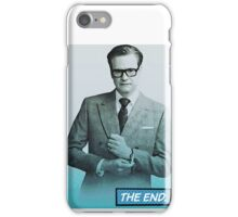Colin Firth Comic Book Style iPhone Case/Skin