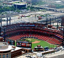The new St. Louis Cardinals Stadium by barnsis