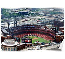 The new St. Louis Cardinals Stadium Poster