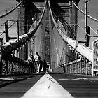Brooklyn Bridge I, New York City, USA by Sabine Jacobs