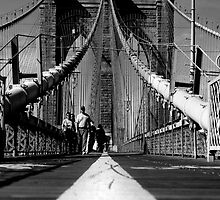 Brooklyn Bridge I, New York City, USA by Sabine Jacobs