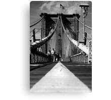 Brooklyn Bridge I, New York City, USA Canvas Print