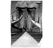 Brooklyn Bridge I, New York City, USA Poster