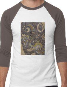 Cat-tee Men's Baseball ¾ T-Shirt