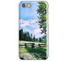 Green Acres iPhone Case/Skin
