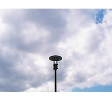 The Light Post Photographic Print