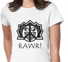 LIONS RAWR!! Womens Fitted T-Shirt