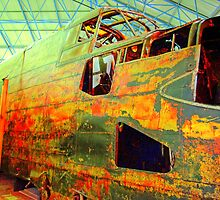 Halifax W1048 TL-S Wreck - HDR by Colin J Williams Photography