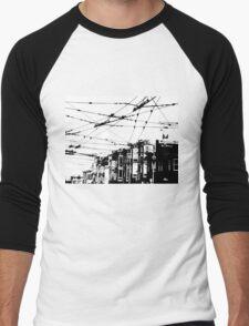 SF Grid Men's Baseball ¾ T-Shirt