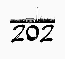 Washington D.C. - 202 (Black Logo) Unisex T-Shirt