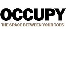 occupy the space between your toes (version 2) by titus toledo