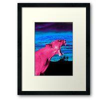 PiXEL TiGer Framed Print