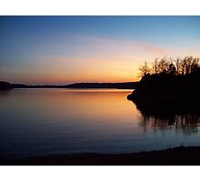 The Lake at Dusk Photographic Print