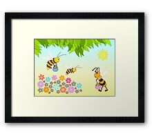 Add oil Framed Print