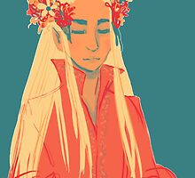 Summer Thranduil by Littlesmurfina