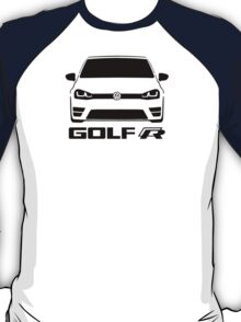 MK7 VW Golf R Front View T-Shirt