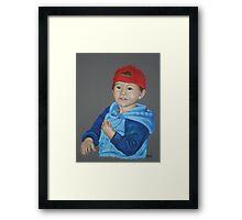 Ryan (pastel) Framed Print