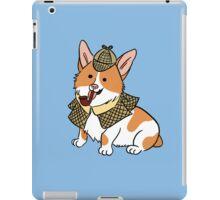 Sherlock Corgi  iPad Case/Skin
