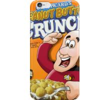 Cap'n Picard's Peanut butter Crunch iPhone Case/Skin