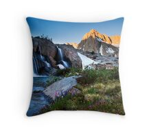Moonlight Falls Throw Pillow