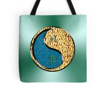 Pisces & Goat Yin Fire Tote Bag