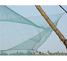 Chinese Fishing Net Photographic Print