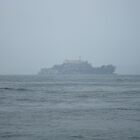 Alcatraz from the Shore by JRGarland