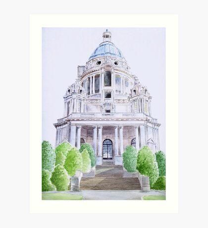Ashton Memorial, Lancaster. Art Print