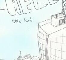 Hello Bird Sticker