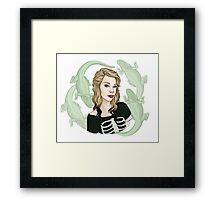 Grav3yardGirl || ScarlettDesigns Framed Print