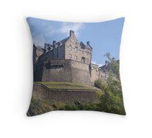edinburgh castle 2 Throw Pillow