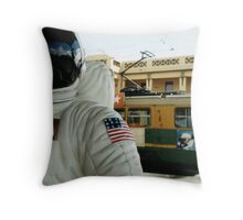 One Small Step For Man, One Giant Leap For Mannequins Throw Pillow