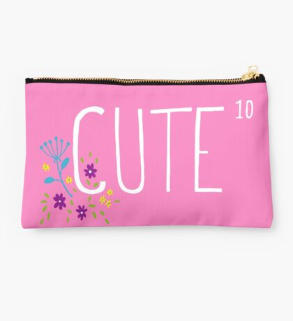 Cute to the power of 10 Studio Pouch
