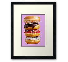 Donuts Framed Print