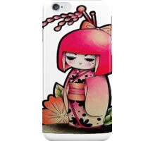 Geisha Doll iPhone Case/Skin