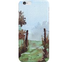 Along my beaten track iPhone Case/Skin