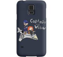 Captain and Widow Samsung Galaxy Case/Skin