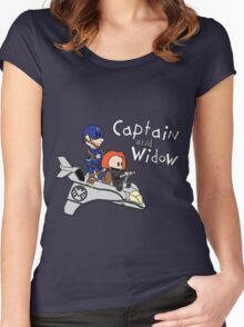 Captain and Widow Women's Fitted Scoop T-Shirt
