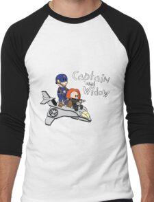 Captain and Widow Men's Baseball ¾ T-Shirt