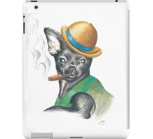 Chug In Bowler Hat iPad Case/Skin