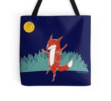 Fox dance  Tote Bag