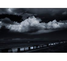 MIDNIGHT TRAIN TO NOWHERE Photographic Print