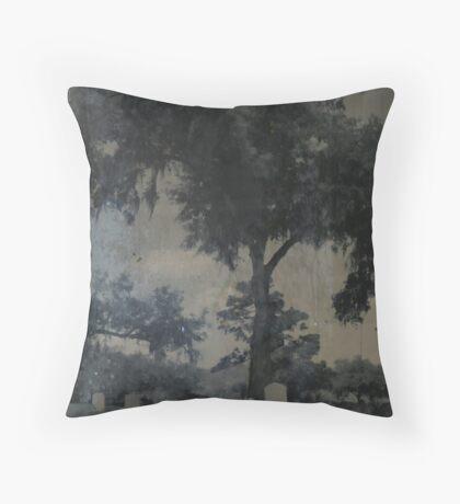CASSADAGA TIN TYPE Throw Pillow