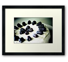 Berries & Spice Framed Print